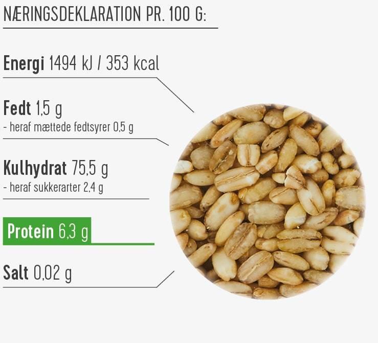 Perlebyg næringsdeklaration